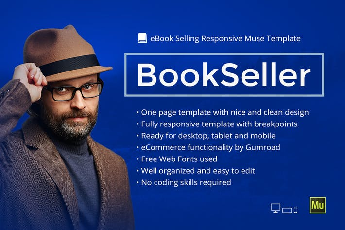 Thumbnail for BookSeller - eBook Selling Responsive Template