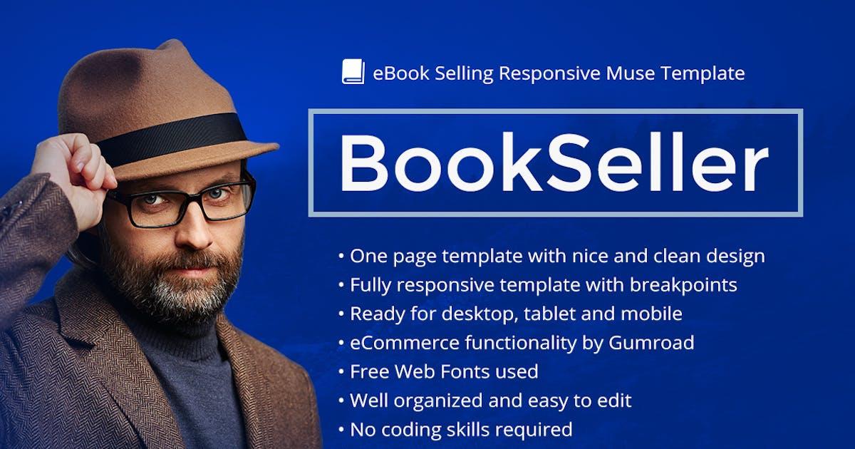 Download BookSeller - eBook Selling Responsive Template by vinyljunkie