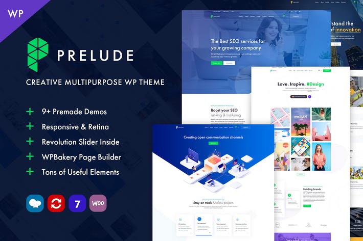 Thumbnail for Prelude - Creative Multipurpose WordPress Theme