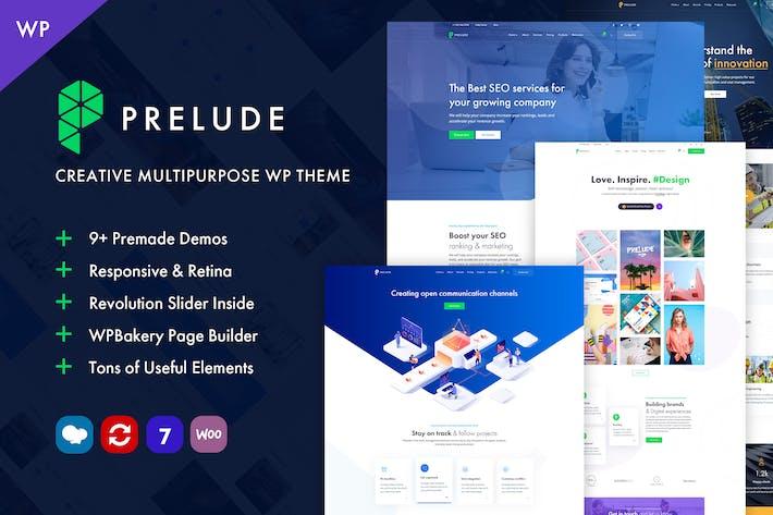 Thumbnail for Prelude - Kreative Multipurpose WordPress Thema