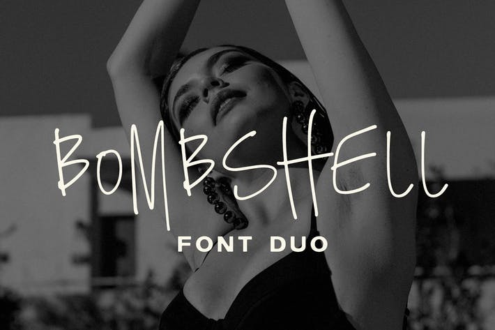 Bombshell Font Duo