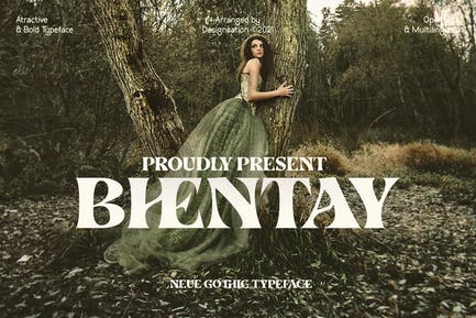 Bhentay Typeface