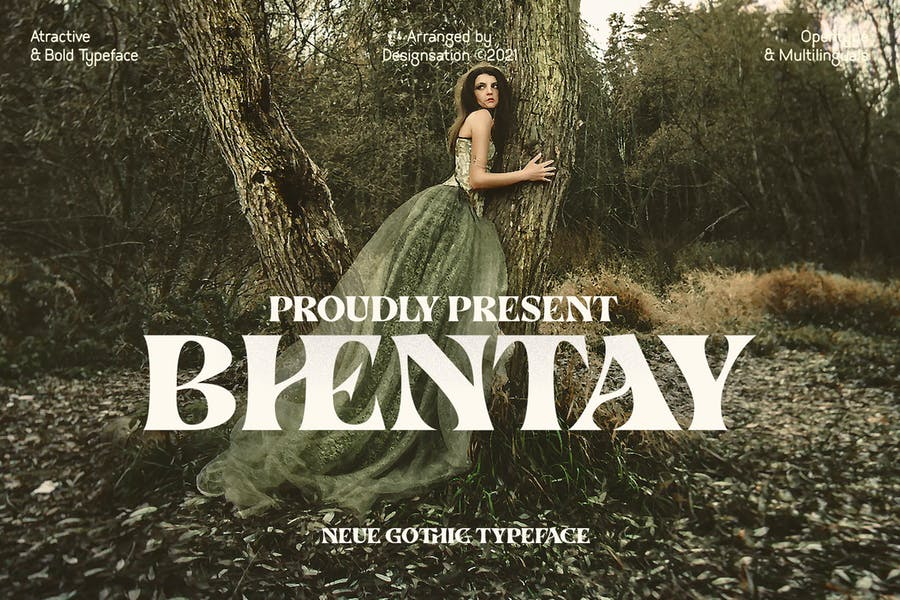 Tipografía Bhentay