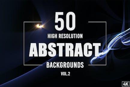 50 Abstrakte Hintergründe - Band 2