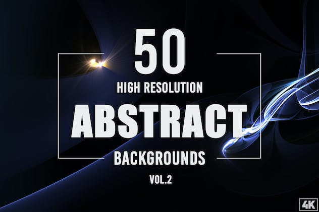 50 Abstract Backgrounds - Vol. 2