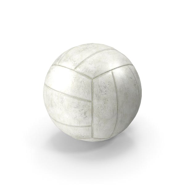 Old Volleyball Ball
