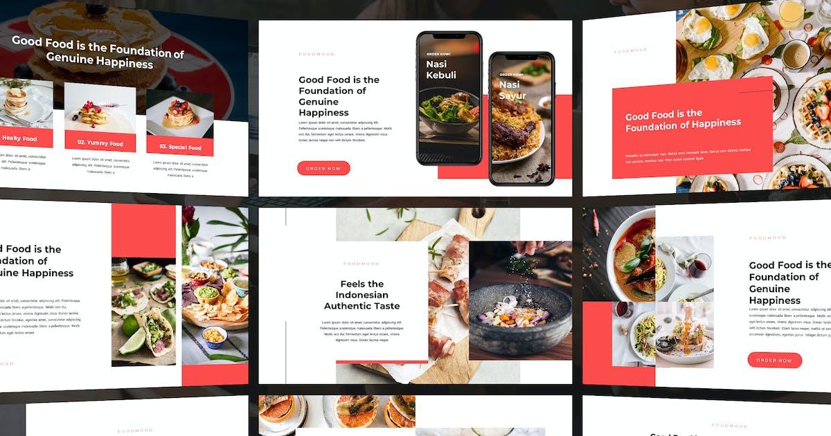 Download FoodMood - Powerpoint Template by Slidehack