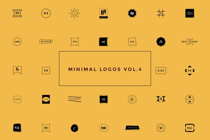 Thumbnail for 50 Minimal Logos Vol.4