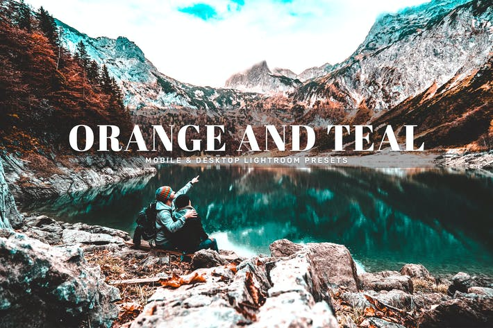 Thumbnail for Orange And Teal Mobile & Desktop Lightroom Presets