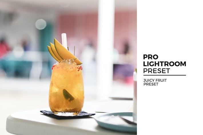 Thumbnail for Juicy Fruit Lightroom Preset