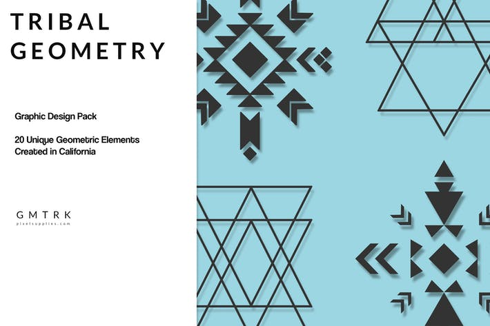 Thumbnail for Geometric Design Kit - Tribal Geometry