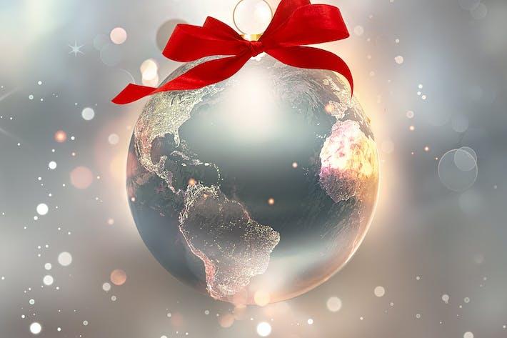 Thumbnail for glänzende Welt als Ball
