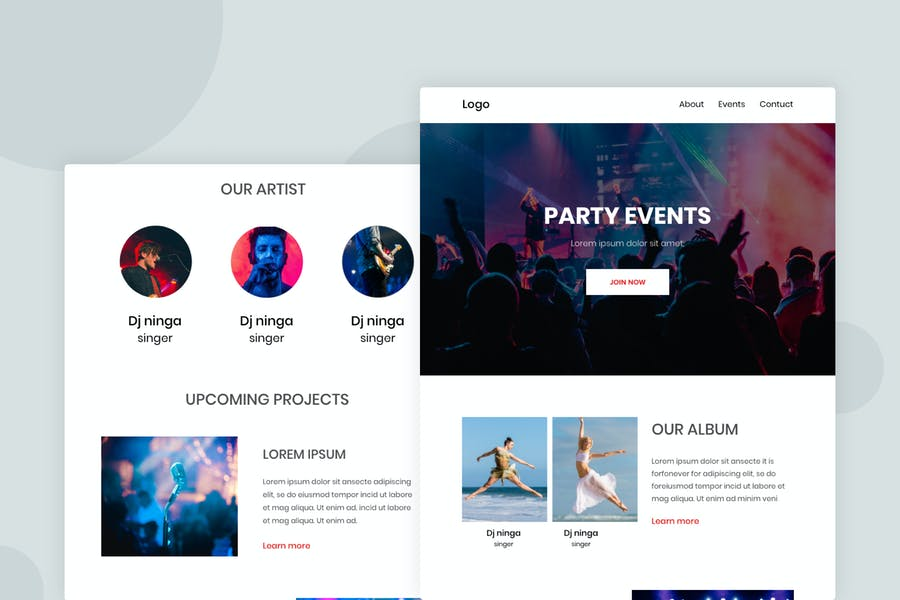 Party - Email Newsletter