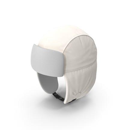 Trapper Hat White