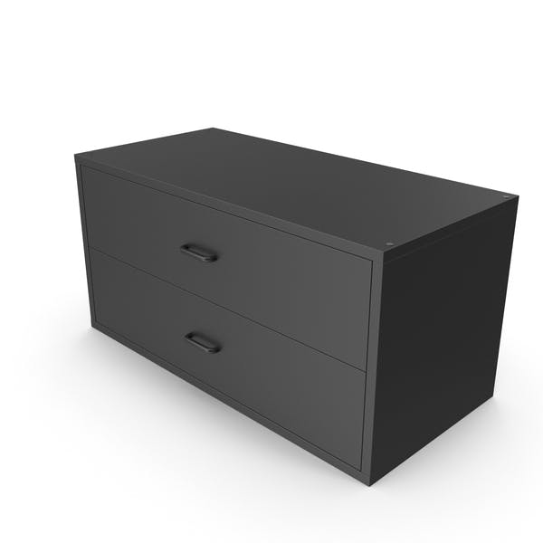 Wall Mounted Storage Black