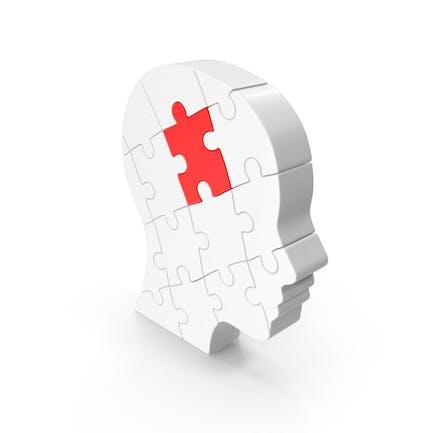 Puzzle-Kopf