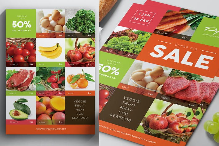 Thumbnail for Supermarkt/Produkt-Flyer