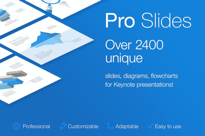 Thumbnail for Pro Slides for Keynote Template