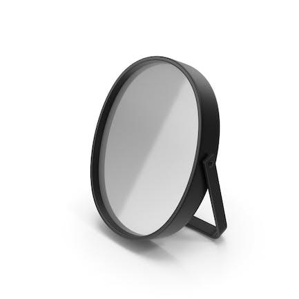 Черное настольное зеркало
