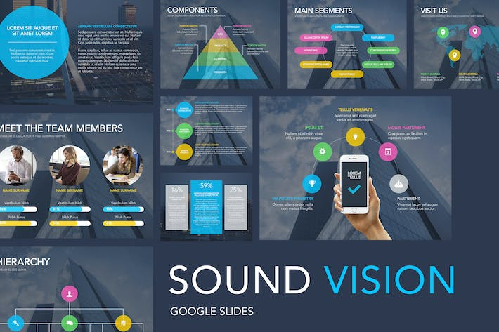 Sound Vision Google Slides