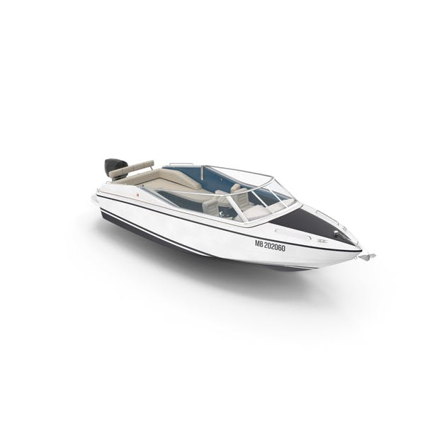 Speedboat With Tent