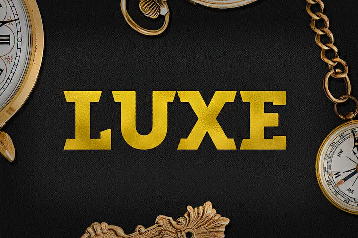 Thumbnail for Luxe Font
