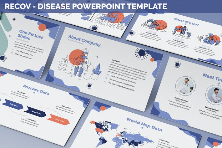 Thumbnail for Recov - Disease Powerpoint Template