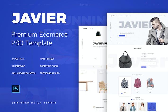 Javier Multipurpose E Commerce Template By La Studio On Envato Elements