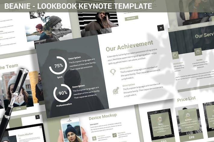 Thumbnail for Beanie - Lookbook Keynote Template
