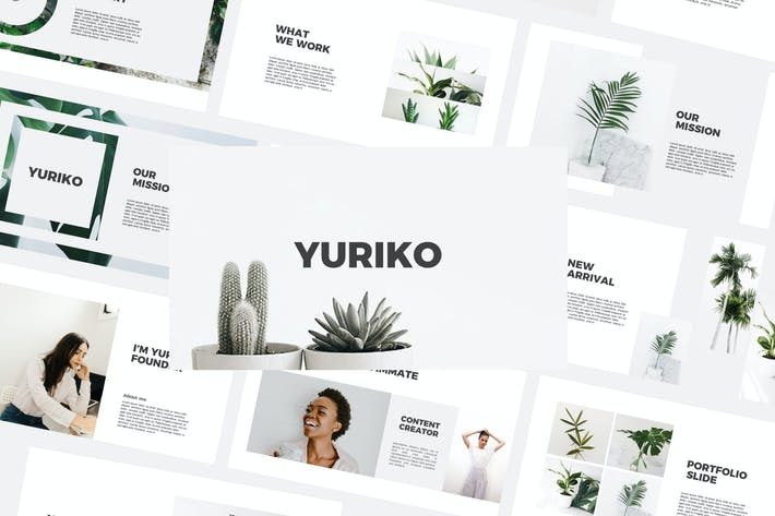 Thumbnail for Yuriko - Keynote Templates