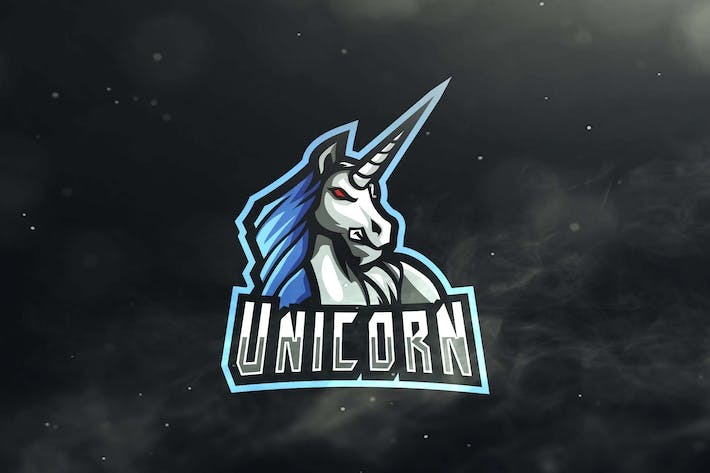 Cover Image For Unicorn Sport and Esports Logos