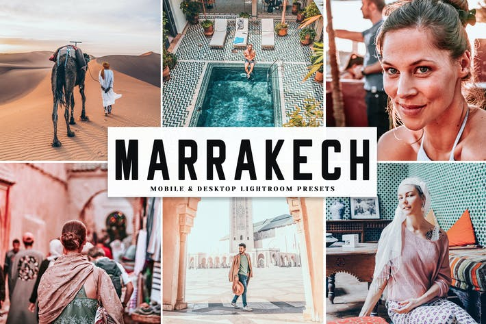 Thumbnail for Marrakech Mobile & Desktop Lightroom Presets