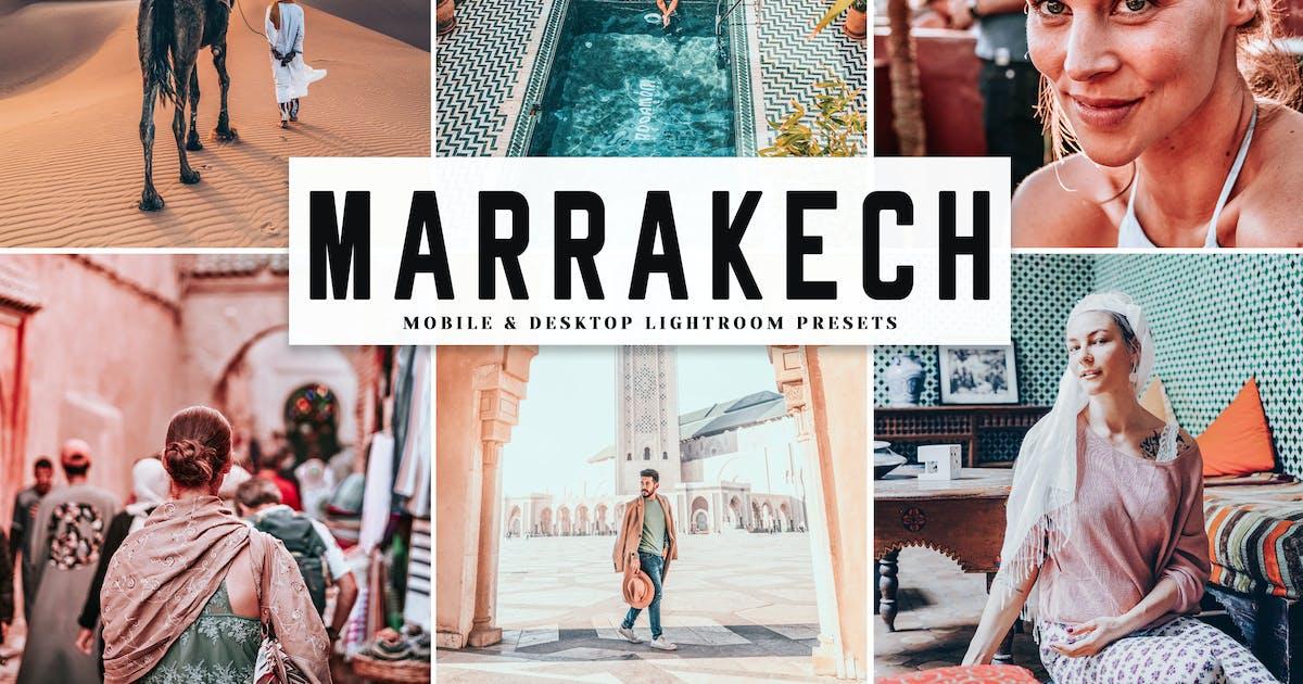 Download Marrakech Mobile & Desktop Lightroom Presets by creativetacos