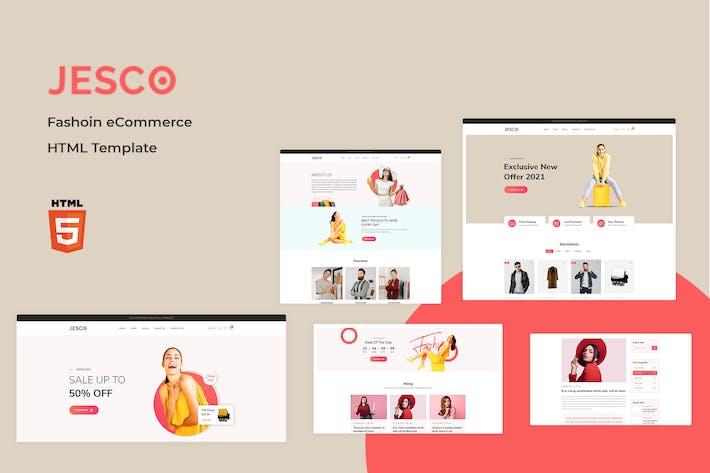 Jesco - Fashion eCommerce HTML Template