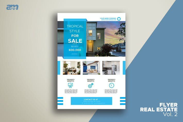 Thumbnail for Flyer Real Estate Vol.2