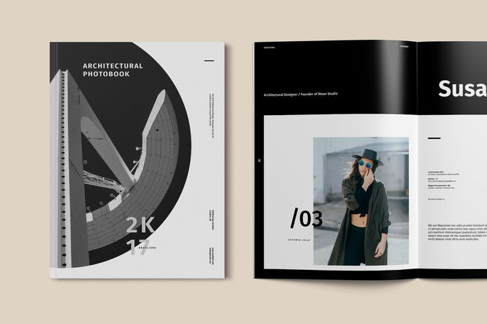 Architecture Photobook Template