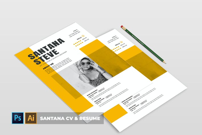 Thumbnail for Santana | CV & Resume
