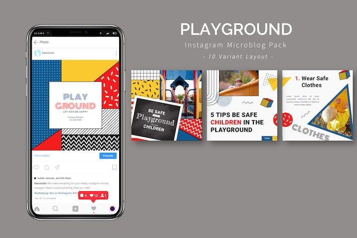 Playground - Instagram Microblog Pack
