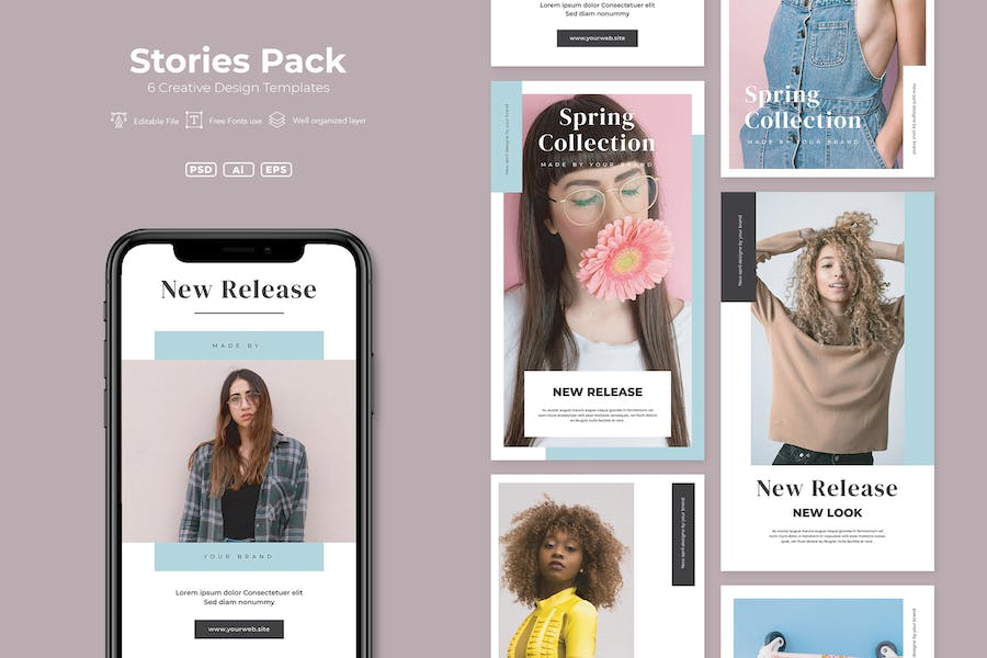 AFR - Stories Pack.v14 - product preview 0