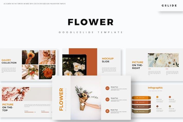Thumbnail for Flower - Google Slide Template