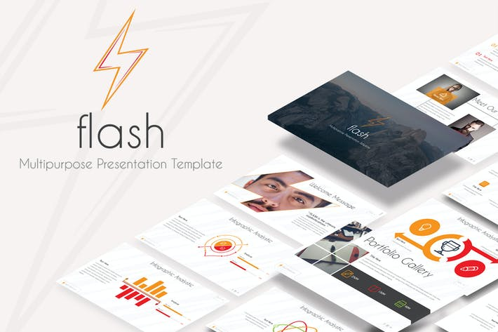 Thumbnail for Flash - Powerpoint Template