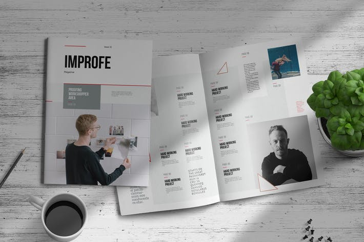 Thumbnail for Improfe | Magazine Template