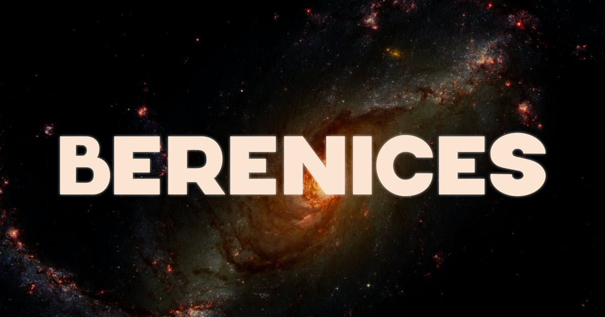 Download Berenices Font by Webvilla