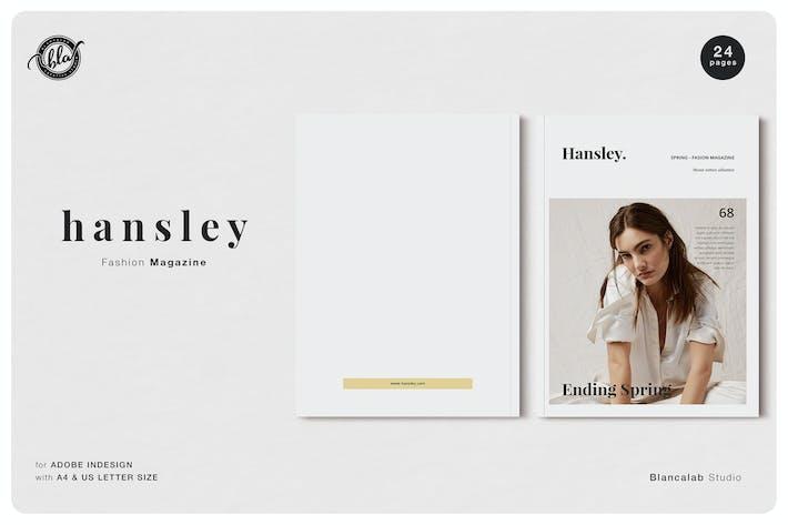 HANSLEY Fashion Magazine
