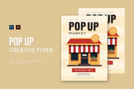 Pop Up - Flyer