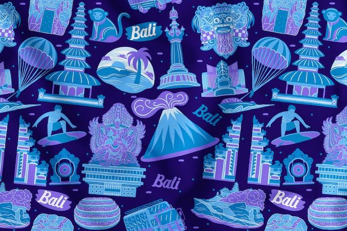 Thumbnail for Bali Seamless Pattern