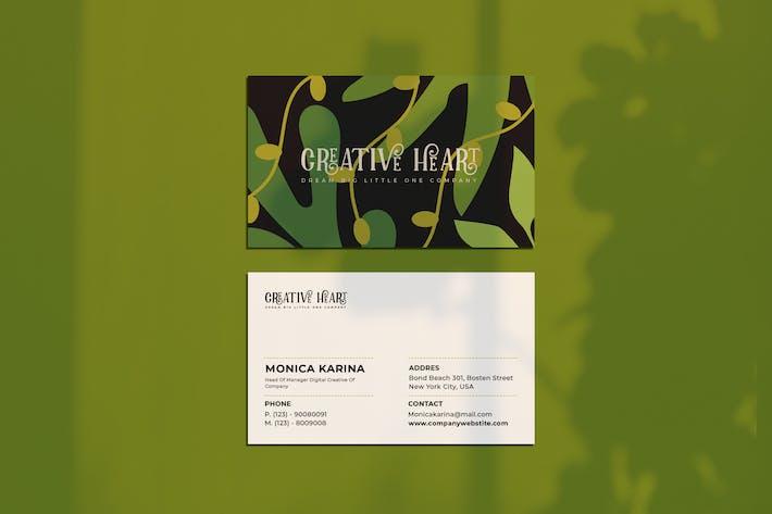 Thumbnail for Творческая визитная карточка