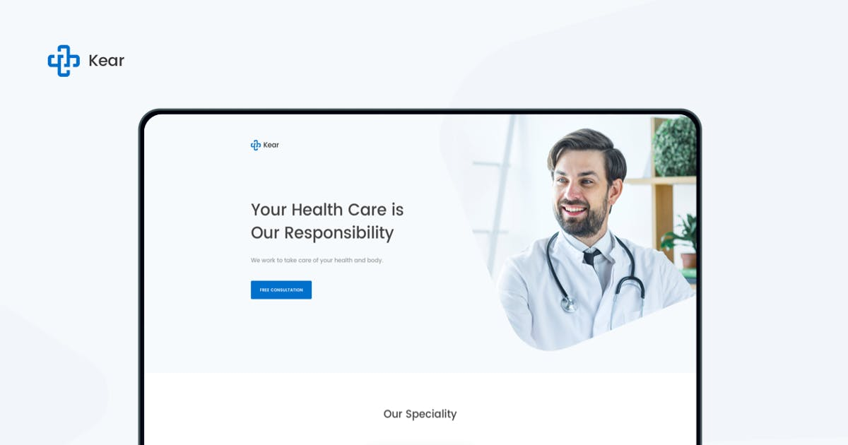 Download Kear - Medical & Healthcare Landing Page Template by zytheme