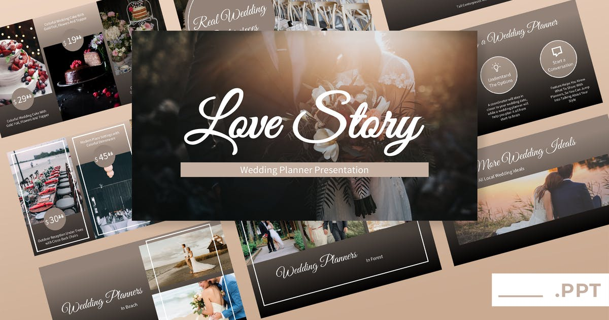 Love Story - Wedding Powerpoint Presentation by TMint on