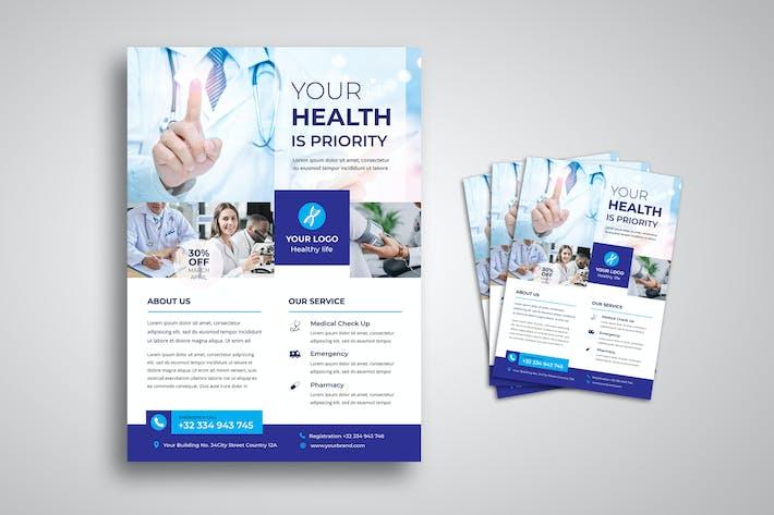 Thumbnail for Health Medical Flyer